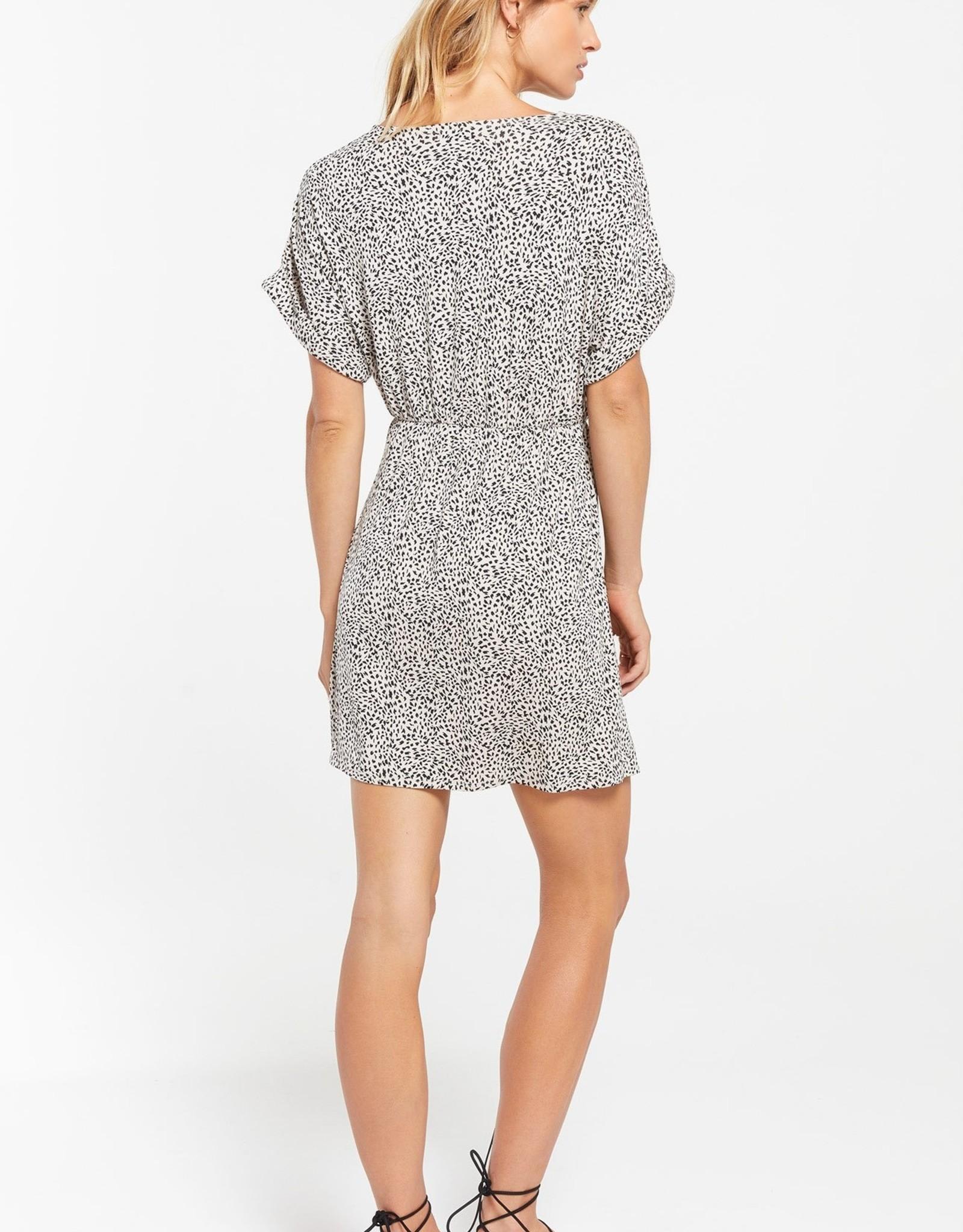 Z Supply Torre Leopard Wrap Dress