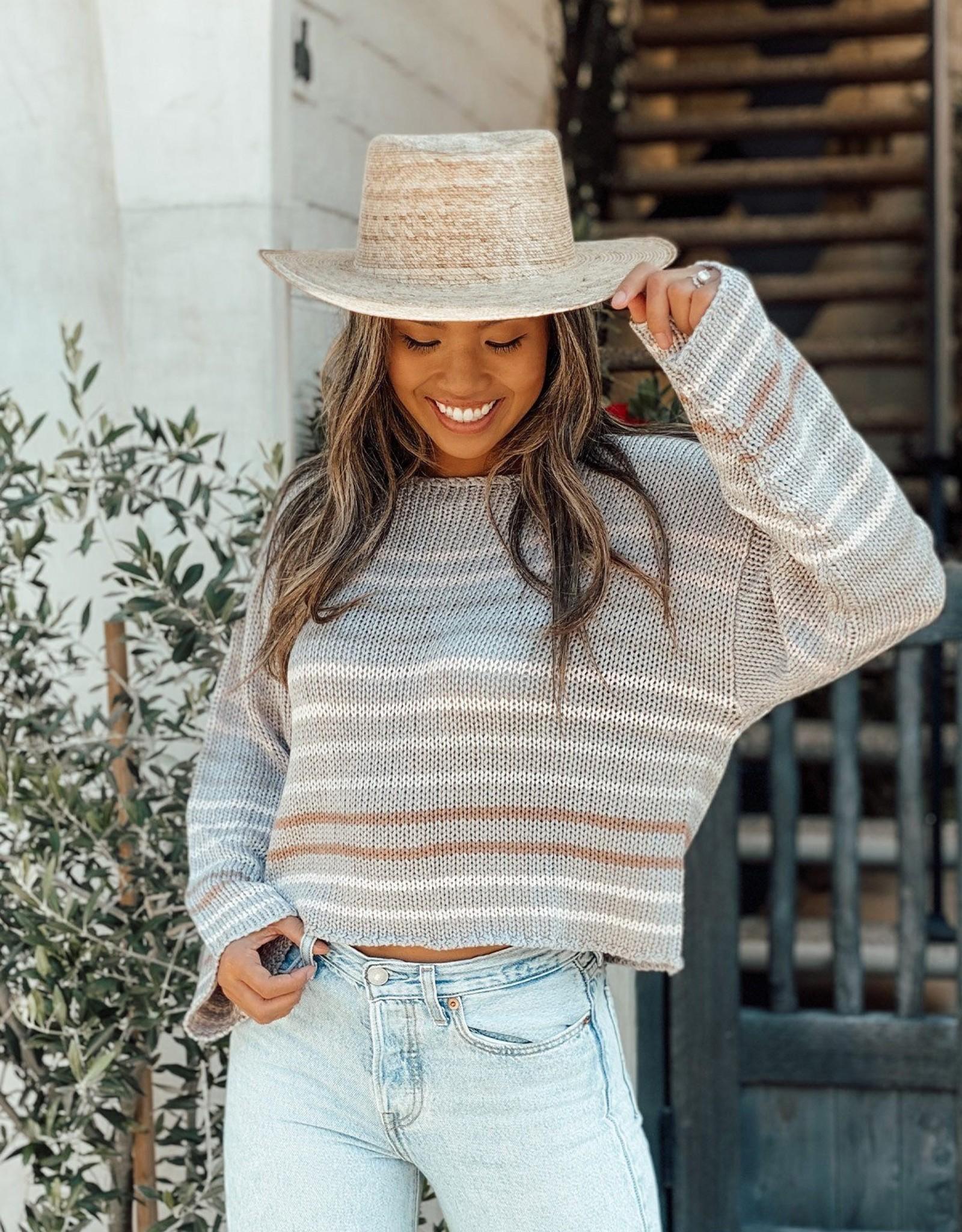 Lovestitch Sera  Striped Sweater