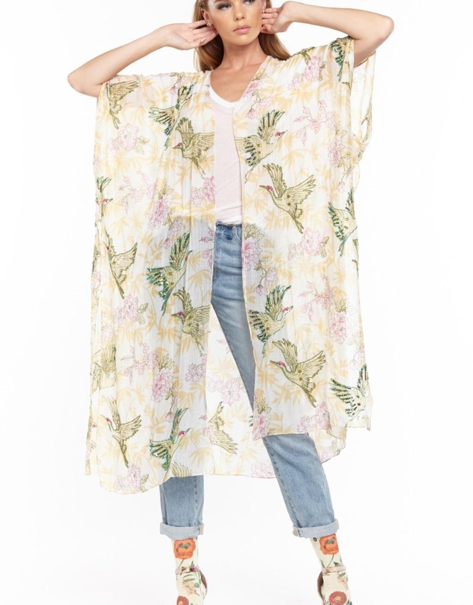 Aratta Dream Island Beaded Kimono