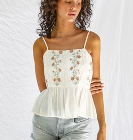 Patrons of Peace Margo Embroidered Top