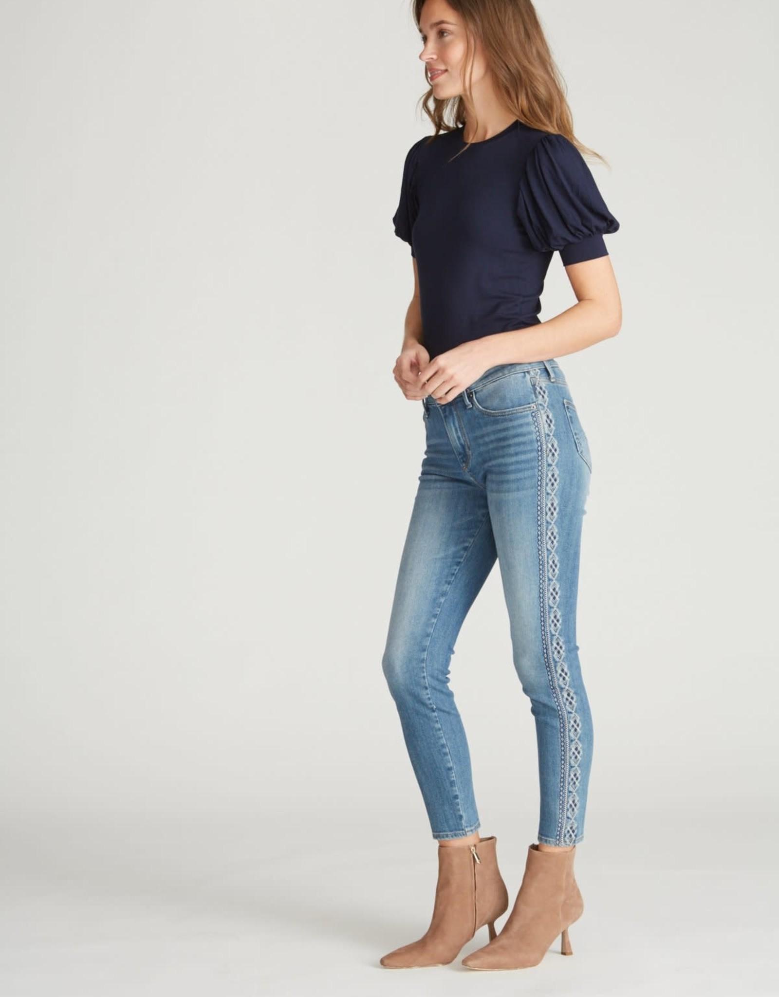 Driftwood Jackie Jeans Diamond Stripe