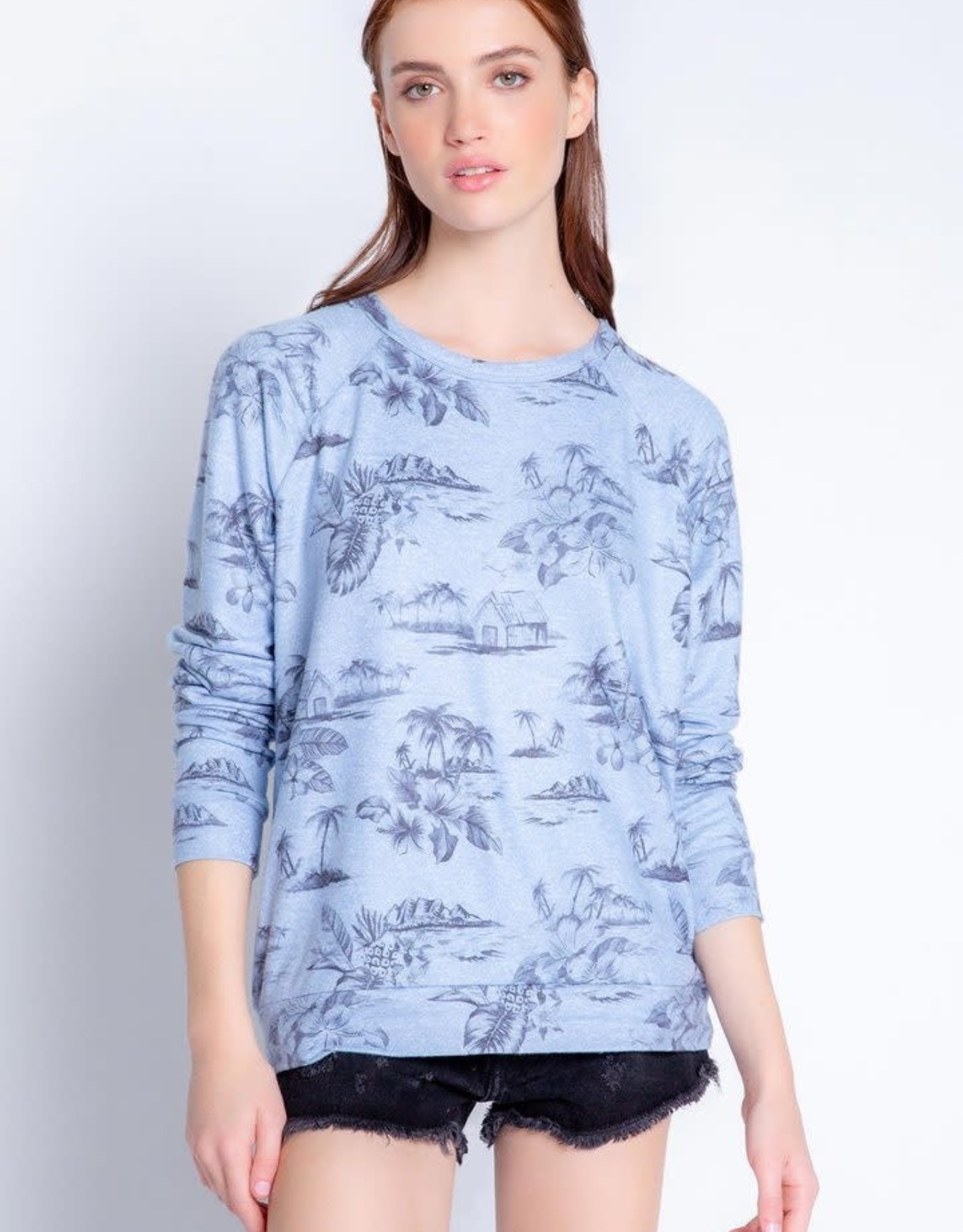 PJ Salvage Peachy Party Pullover