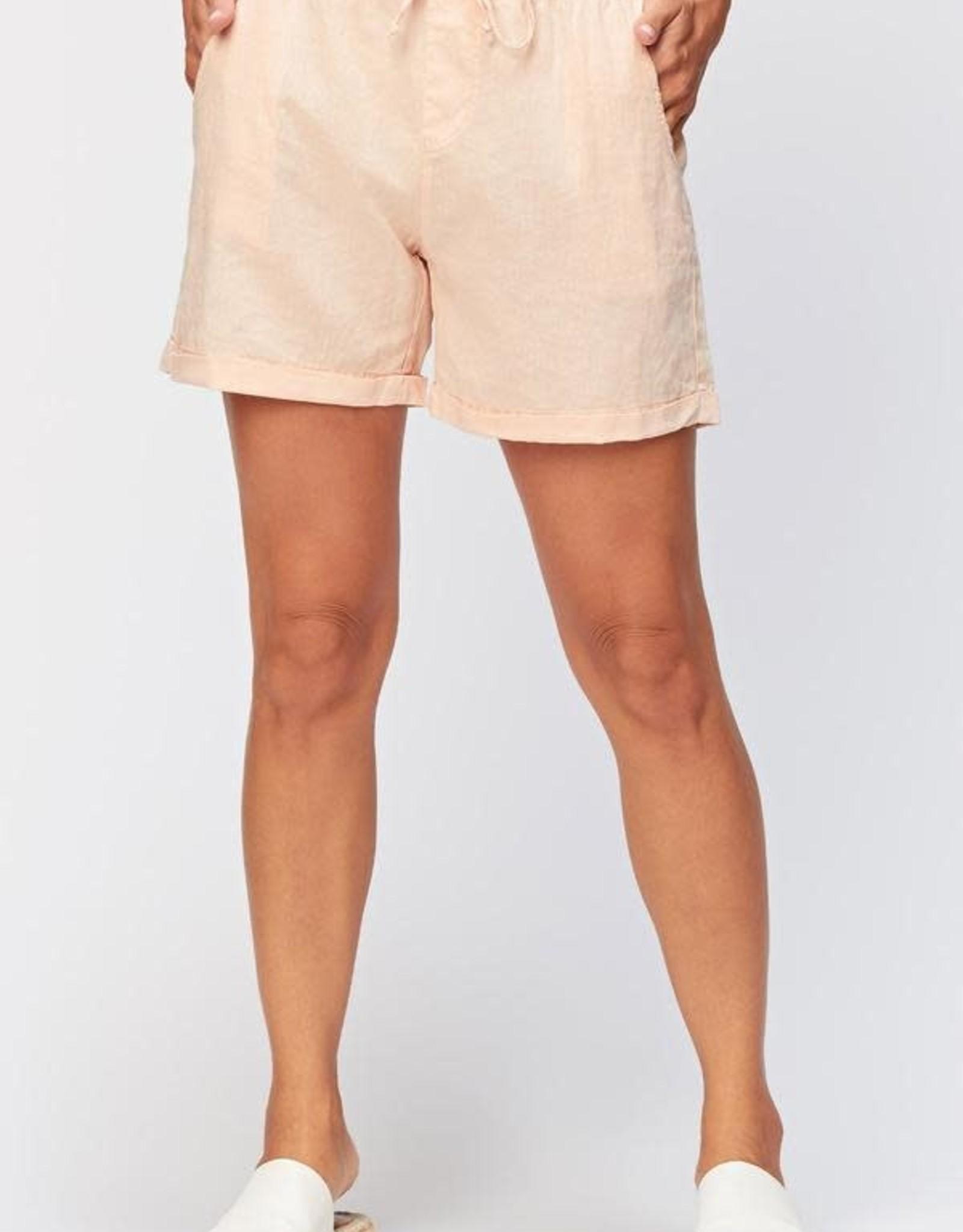 XCVI Quincy Linen Short