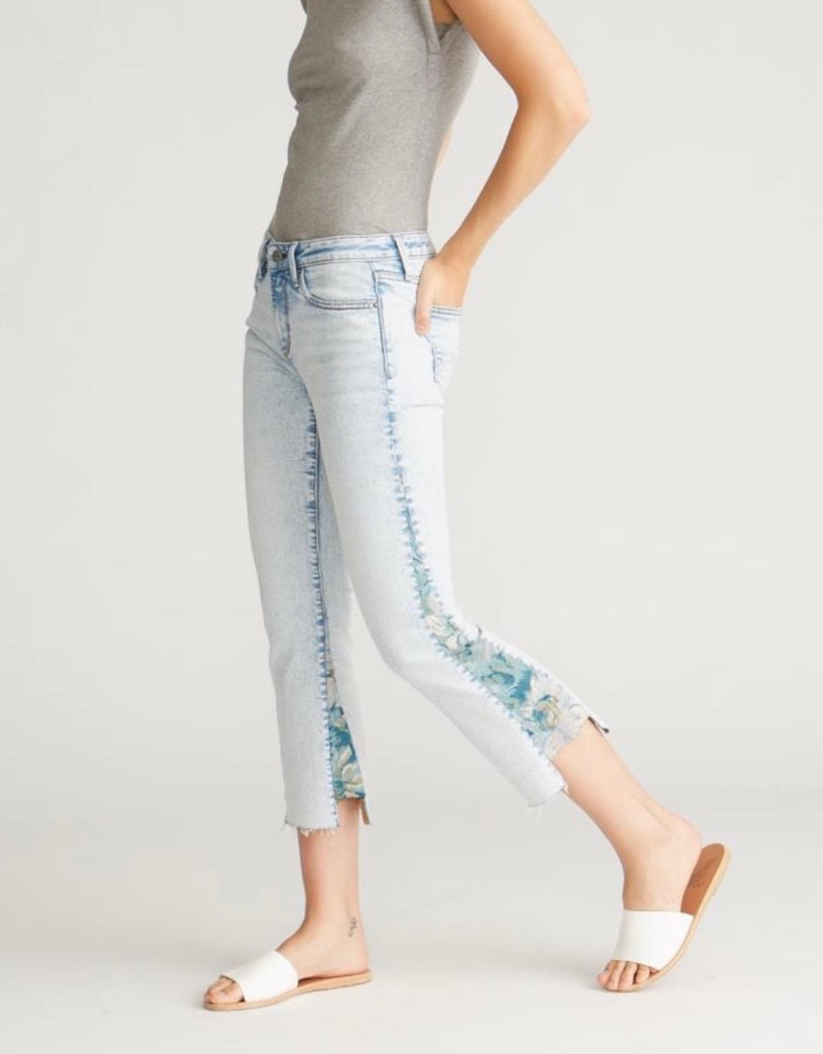 Driftwood Indie Paradise Crop Jean