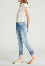 Driftwood Colette Diamond Blue Crop Jean