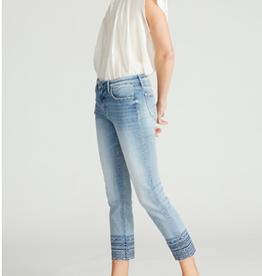 Driftwood Colette Diamond Blue Crop Jean