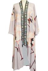 Aratta Story of the Crane Kimono