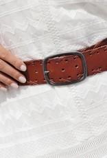 Amsterdam Heritage  Greta Woven Leather Belt
