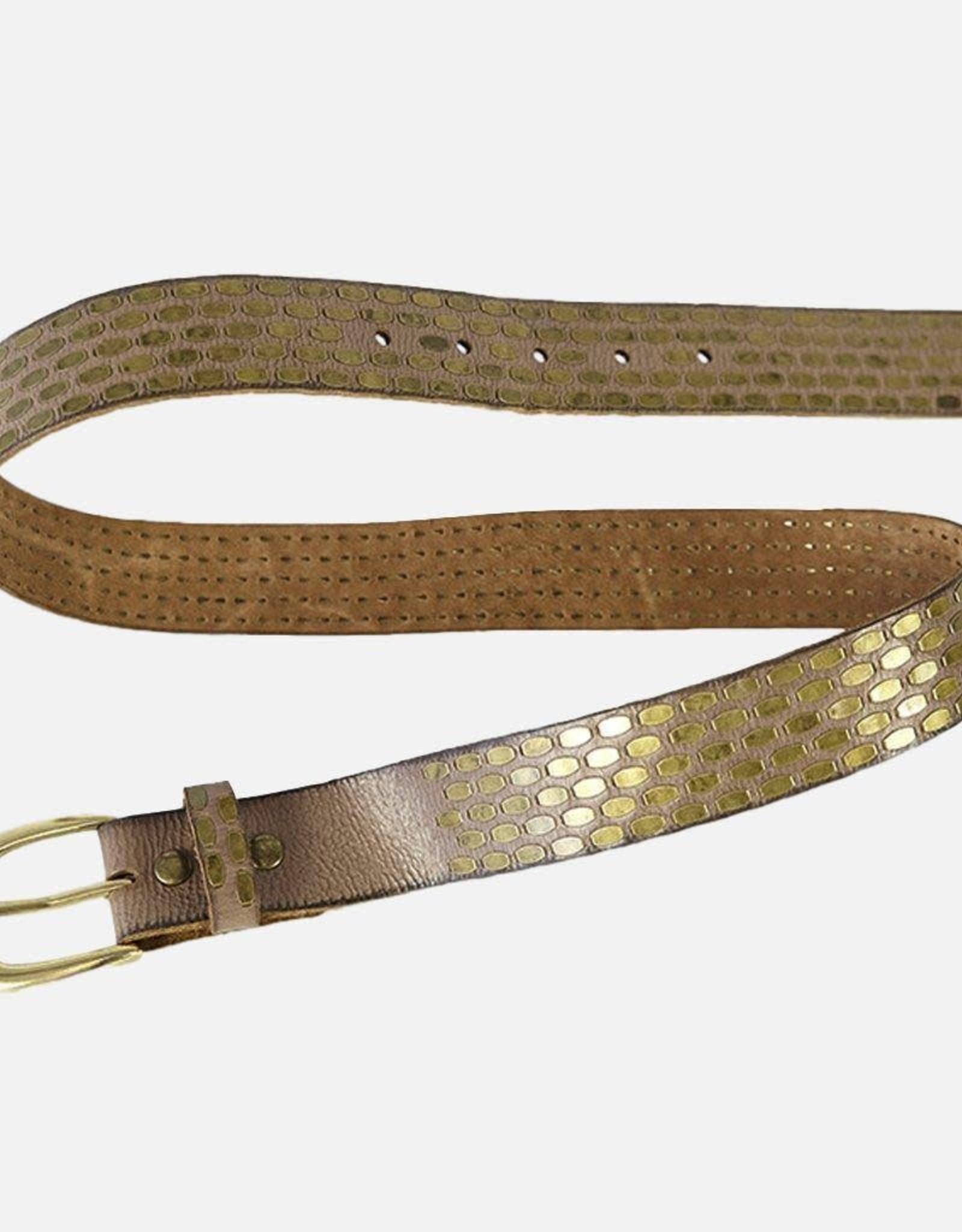 Amsterdam Heritage  Maeva Studded Leather Belt
