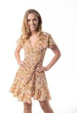 Cienna Daphne Short Wrap Dress