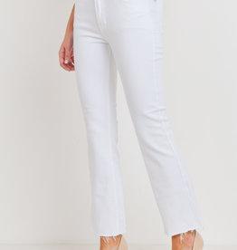 Just Black Crop Flare Jean