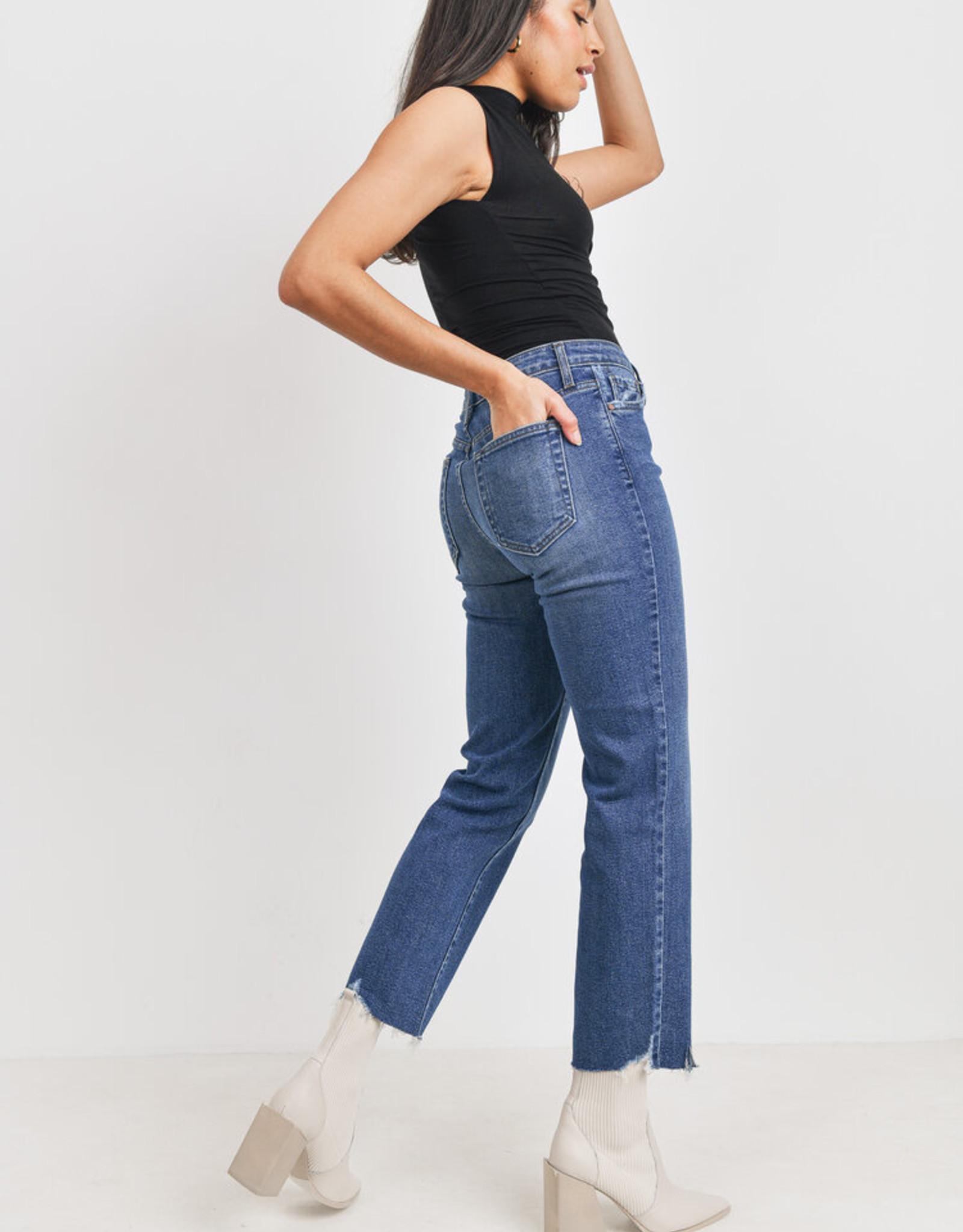 Just Black Vintage Straight Leg Jean