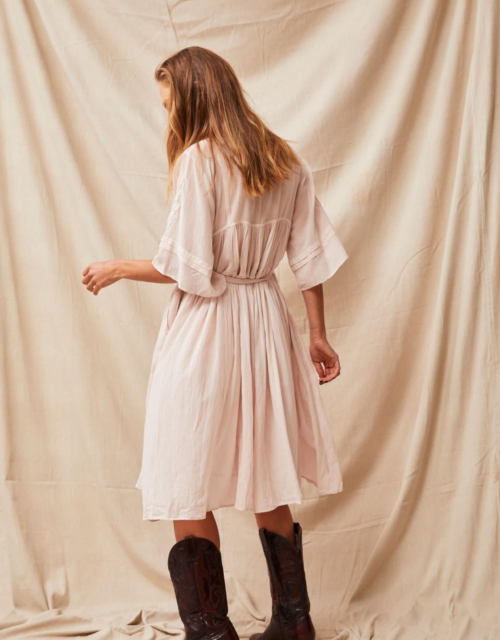 Kinga Csilla Oscar Embroidered Dress
