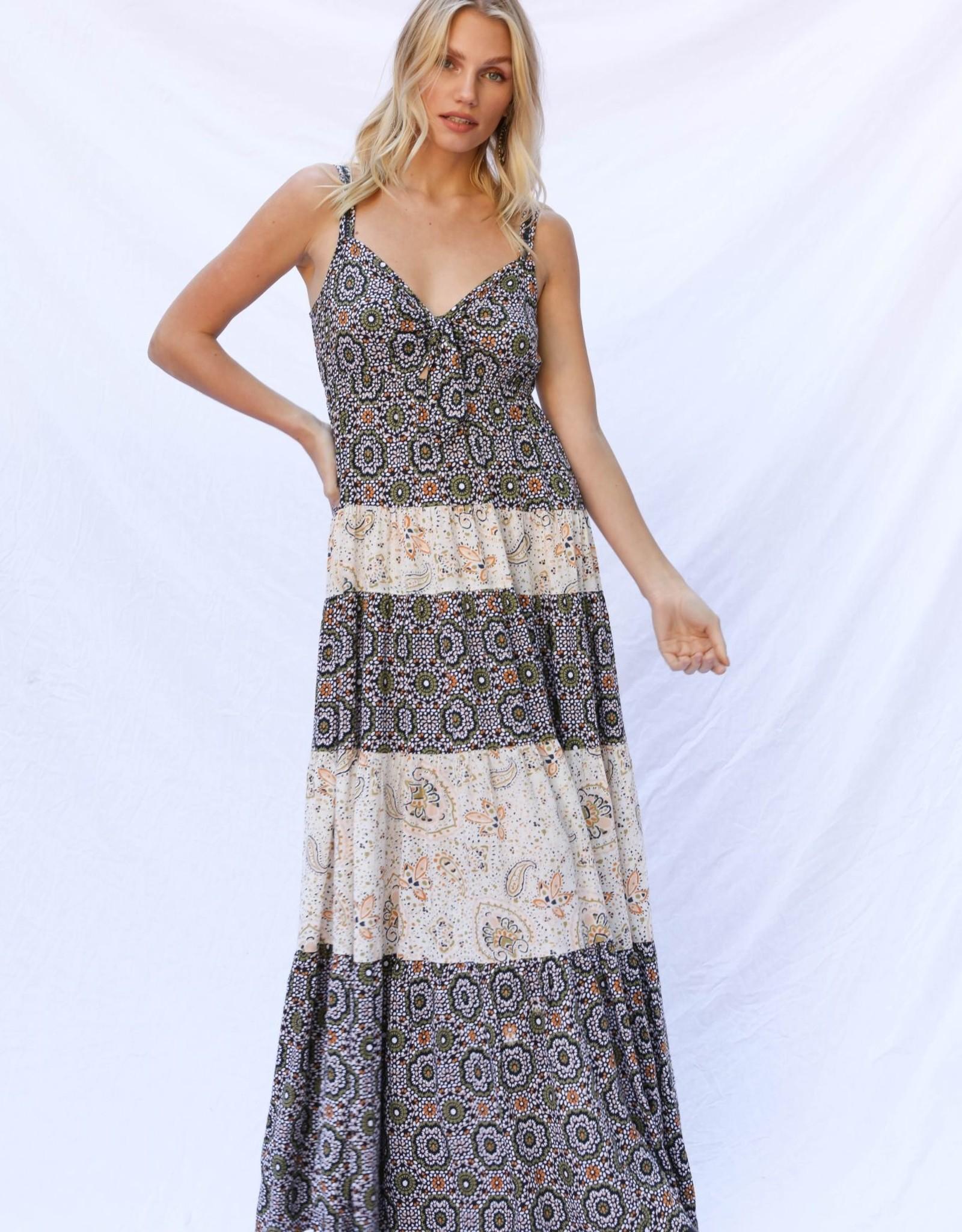 Patrons of Peace  Mosaic Maxi Dress