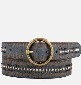 Amsterdam Heritage Soraya Studded Leather Belt