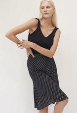 Rue Stiic Sadie Midi Skirt B/W Dot