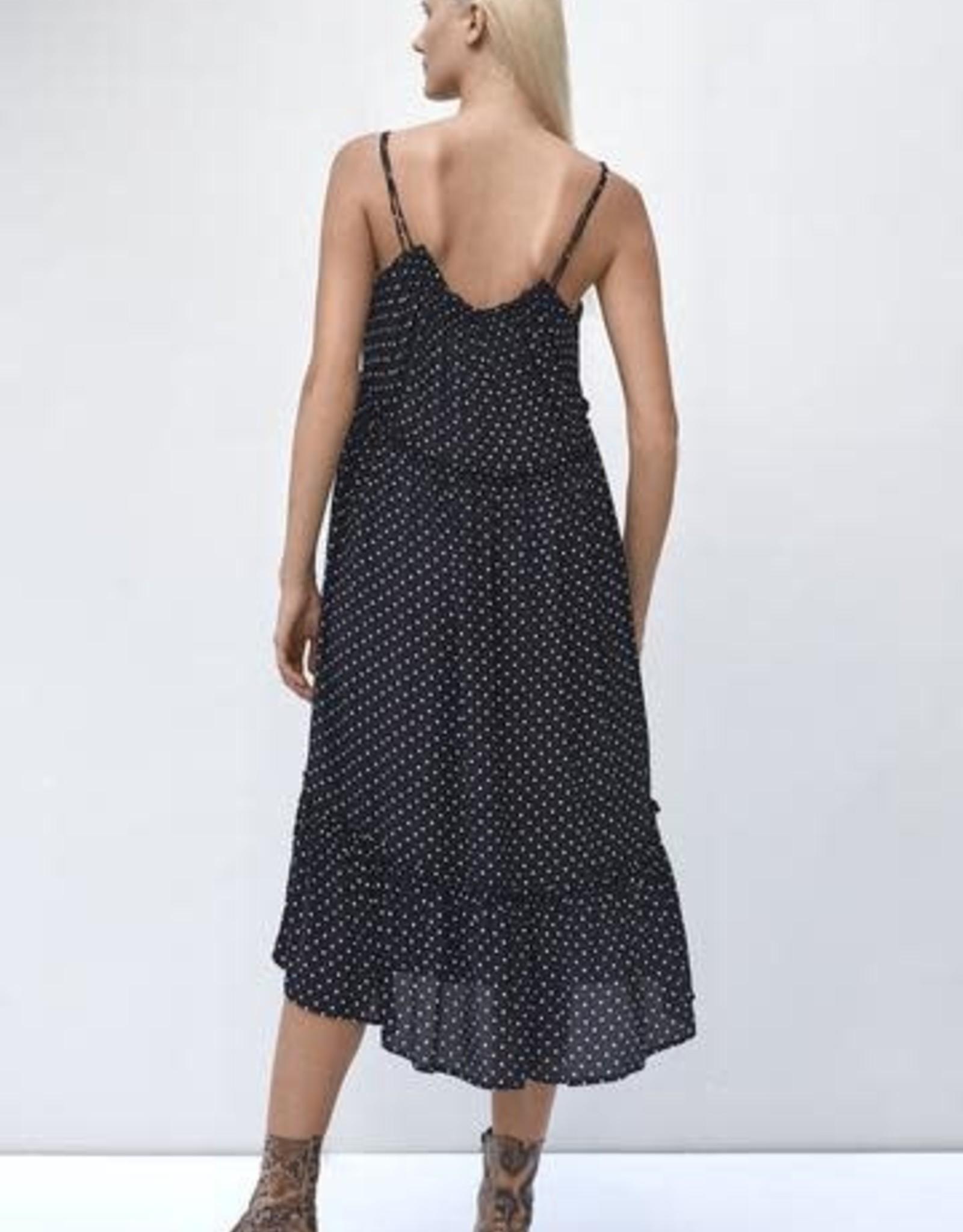 Rue Stiic Ember Maxi Dress B/W Dot