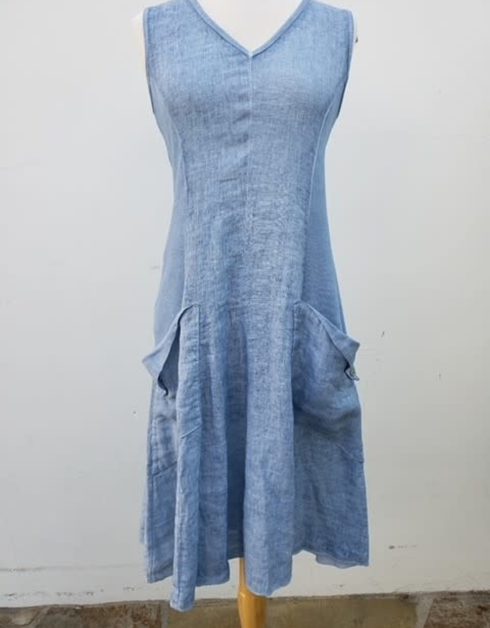 Inizio Linen Thea Dress