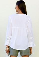 Aspiga Valentina Embroidered Cotton Shirt