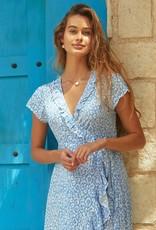 Aspiga Leopard Wrap Dress