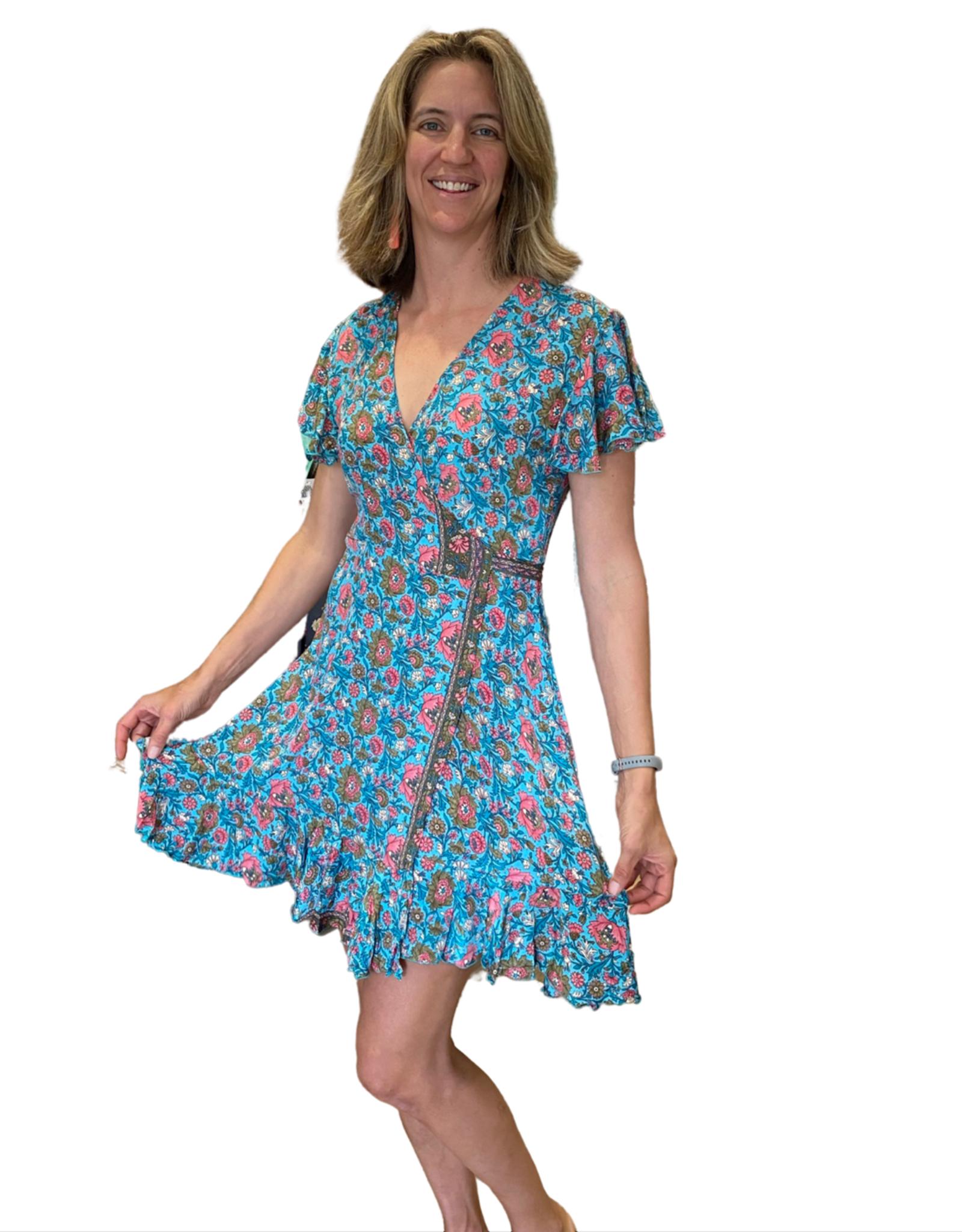 Cienna Tara Short Wrap Dress