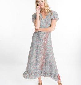 Cienna Zoe Maxi Wrap Dress
