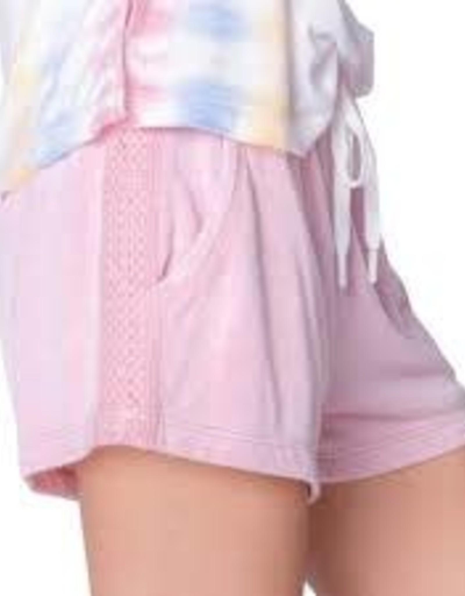 PJ Salvage Sunset Hues Pink Short