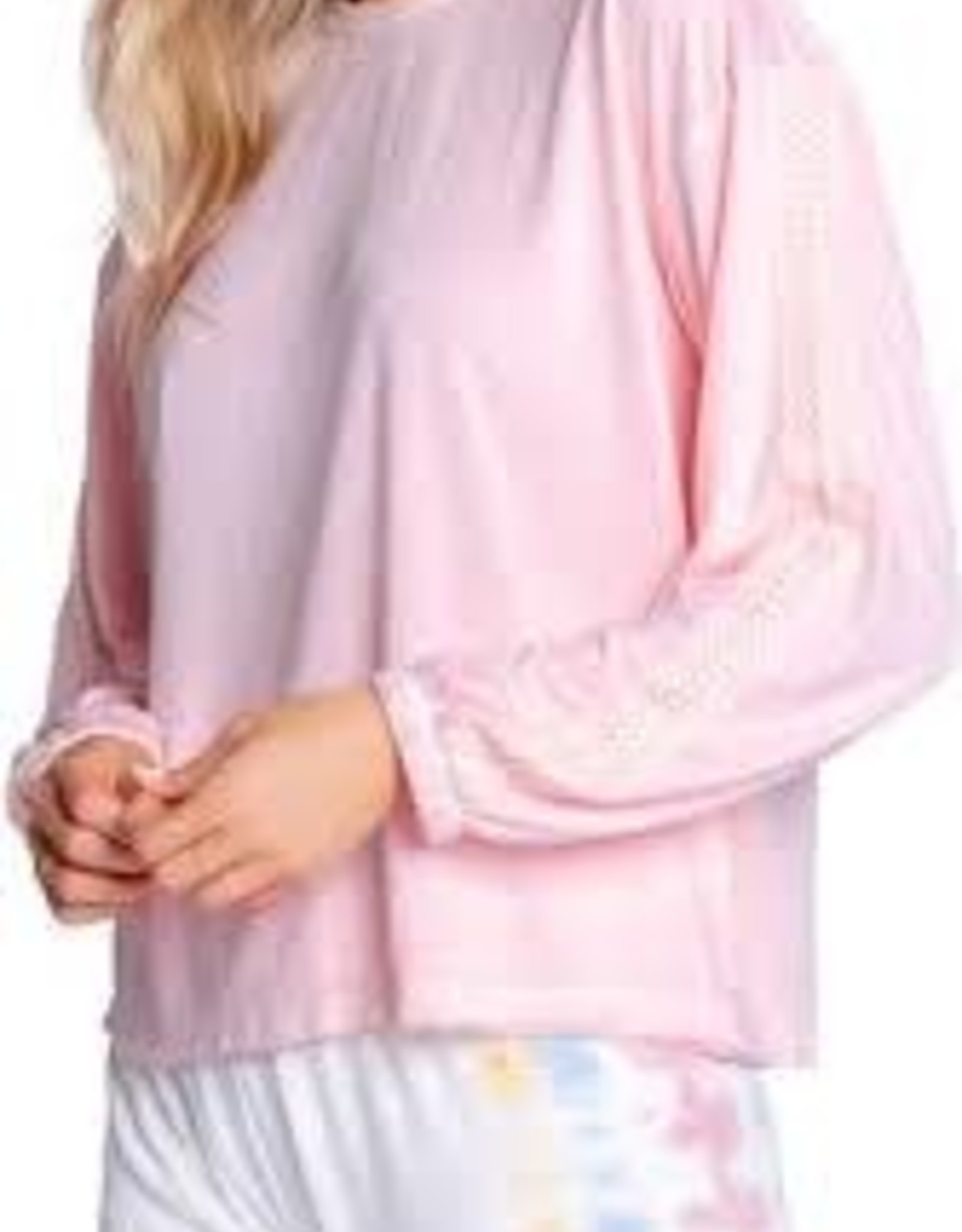 PJ Salvage Sunset Hues Pullover Pink