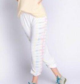 PJ Salvage Sunset Hues Banded Lounge Pants