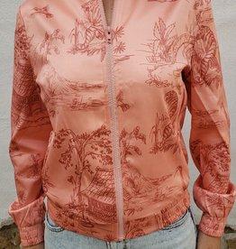 Zhril Lesley Rose Bomber Jacket