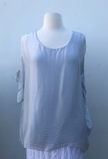 Silk Short Sleeve Blouse