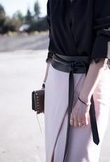 Ada Leather Wrap Belt