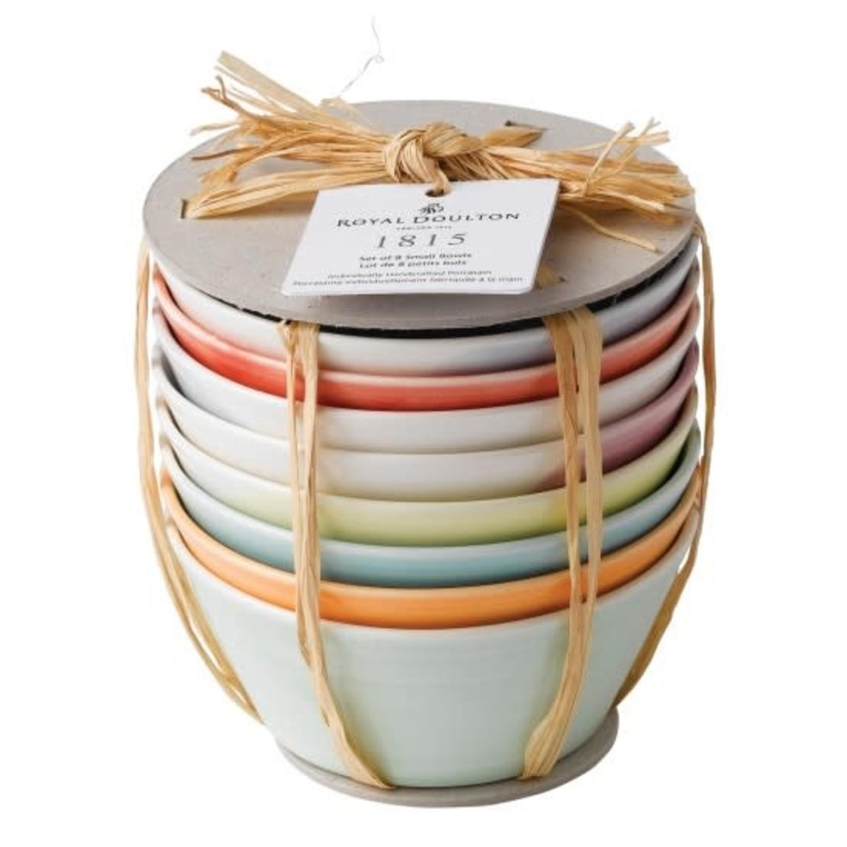Royal Doulton 1815 Tapas Bowls, Set of 8