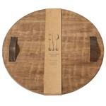 Round Oversized Wood Board