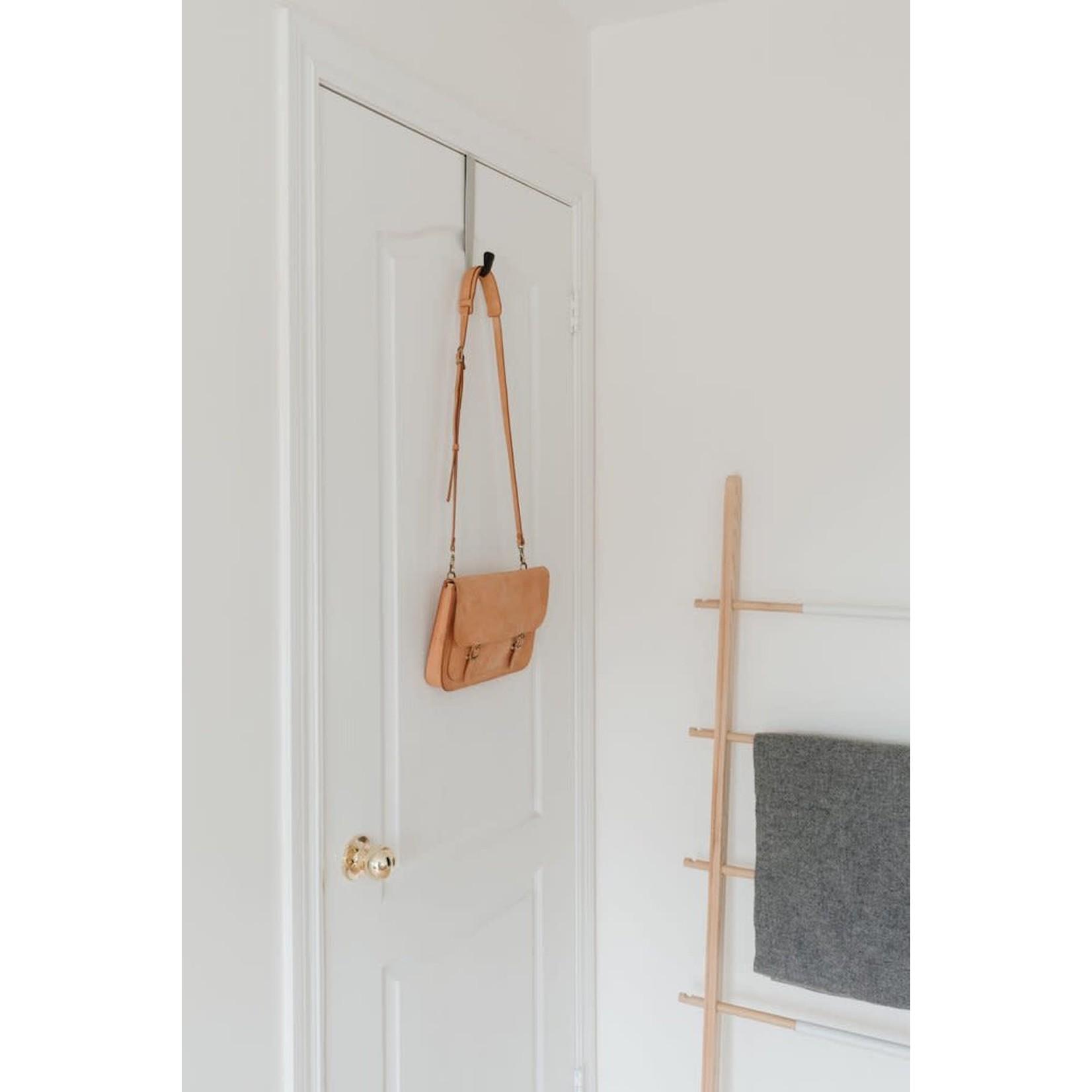 UMBRA Over the Door Single Hook, Black