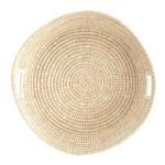 Round Hand Woven Grass Basket