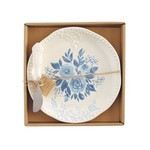 Cottage Rose Cheese Set