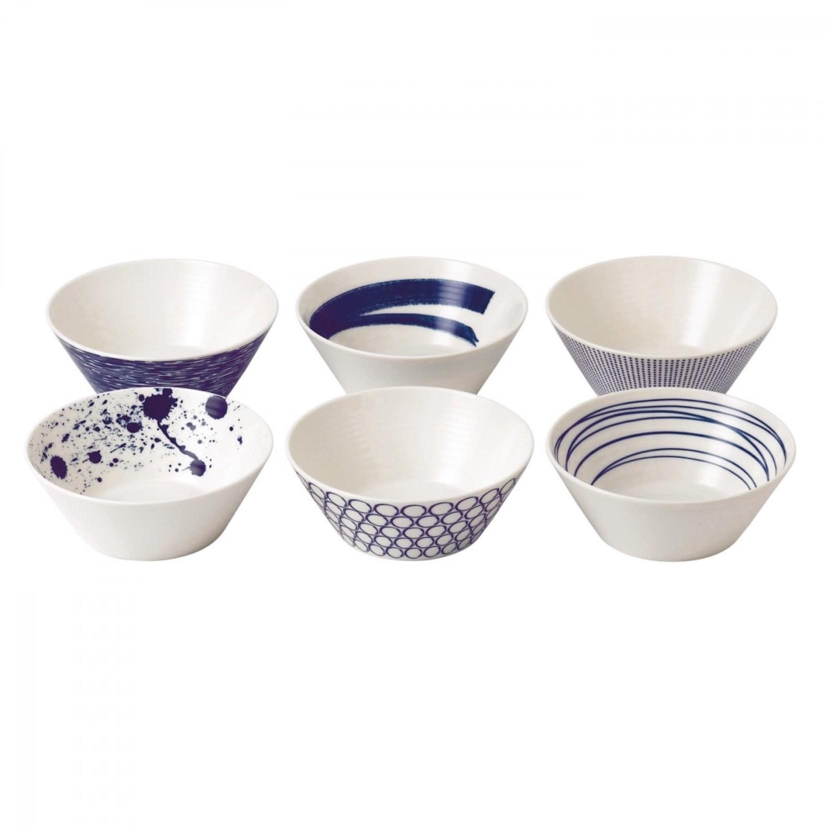 Royal Doulton Pacific Cereal Bowls Set of 6