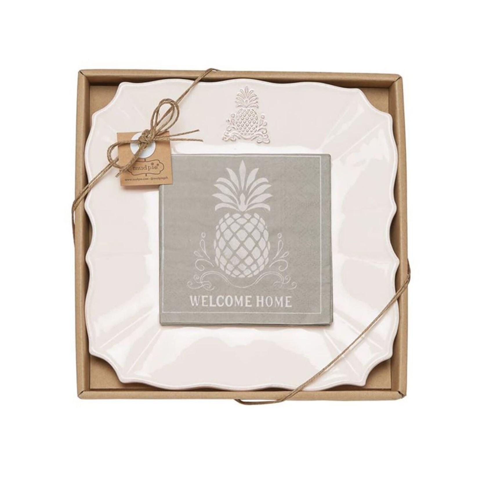 Pineapple Cheese Plate