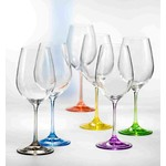 Rainbow Wine 550ml Set of 6
