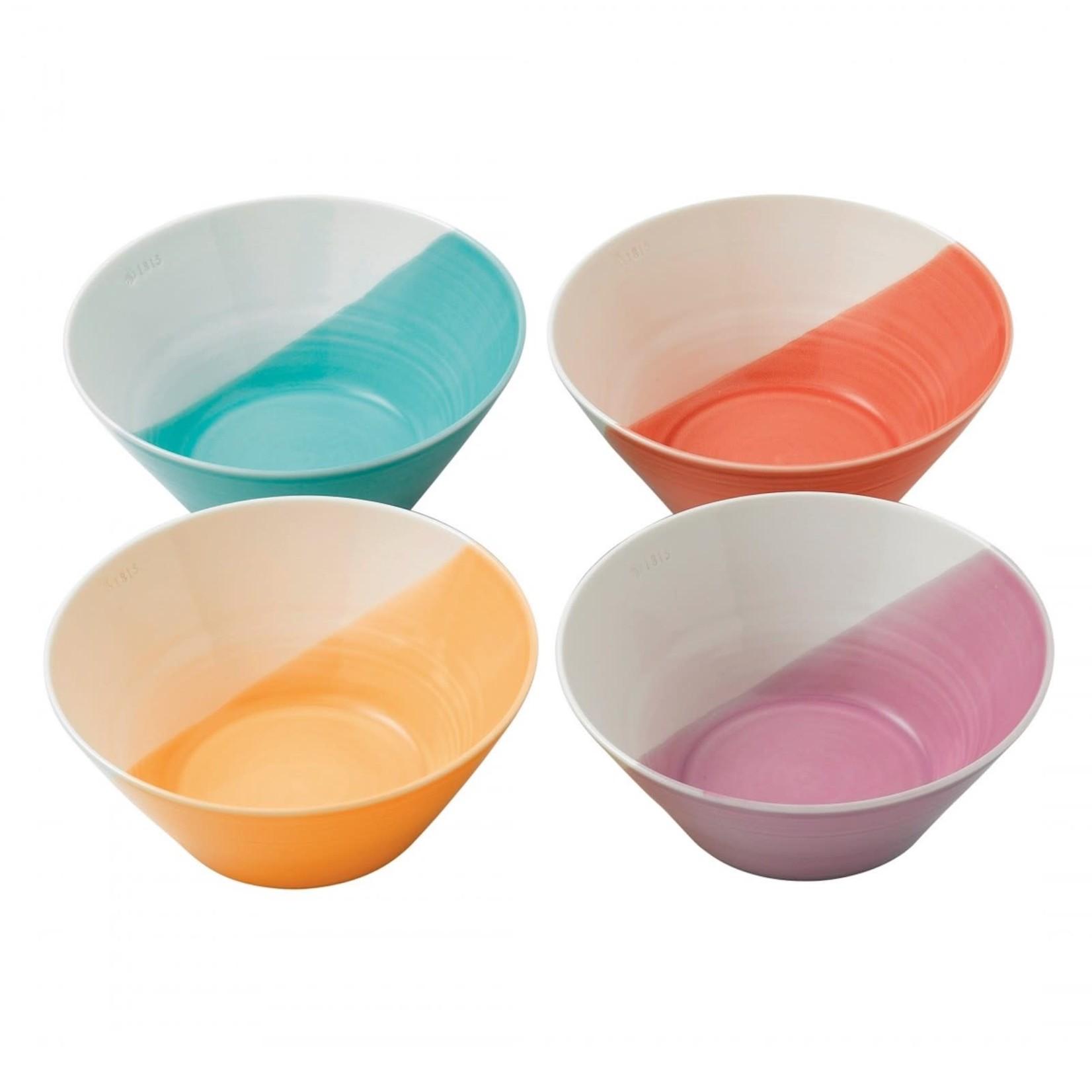 Royal Doulton 1815 Bright Colors Noodle Bowl Set of 4