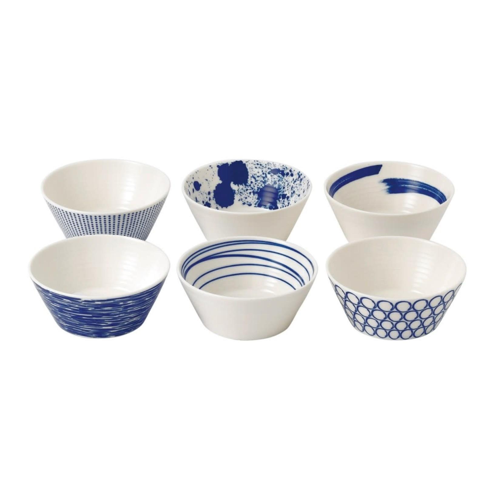 Royal Doulton Pacific Tapas Bowls, Set of 6