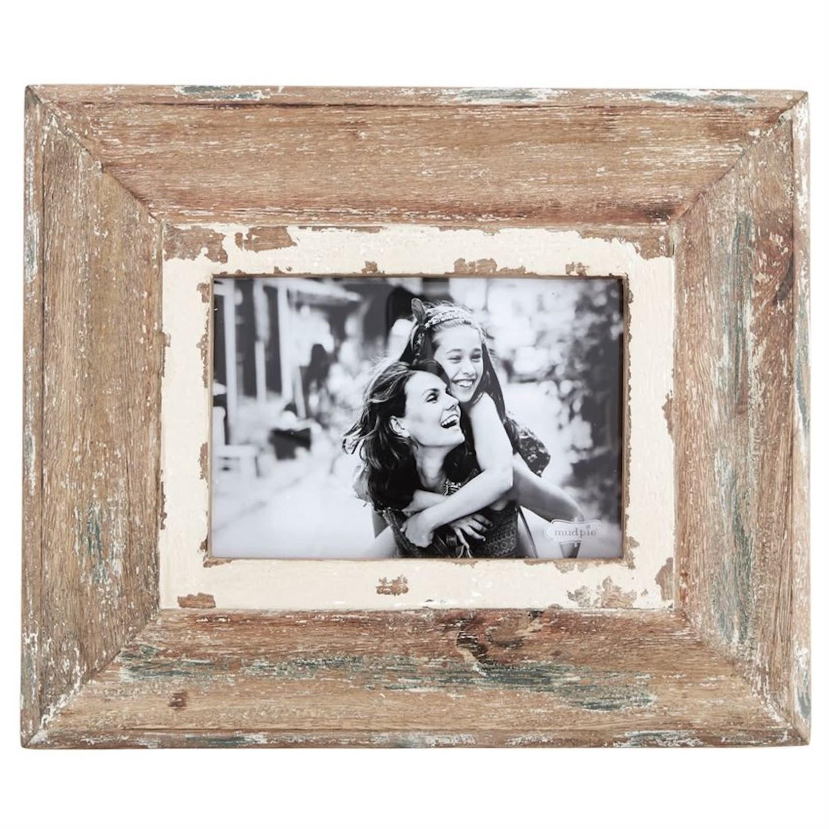 5x7 Weathered Wood Frame