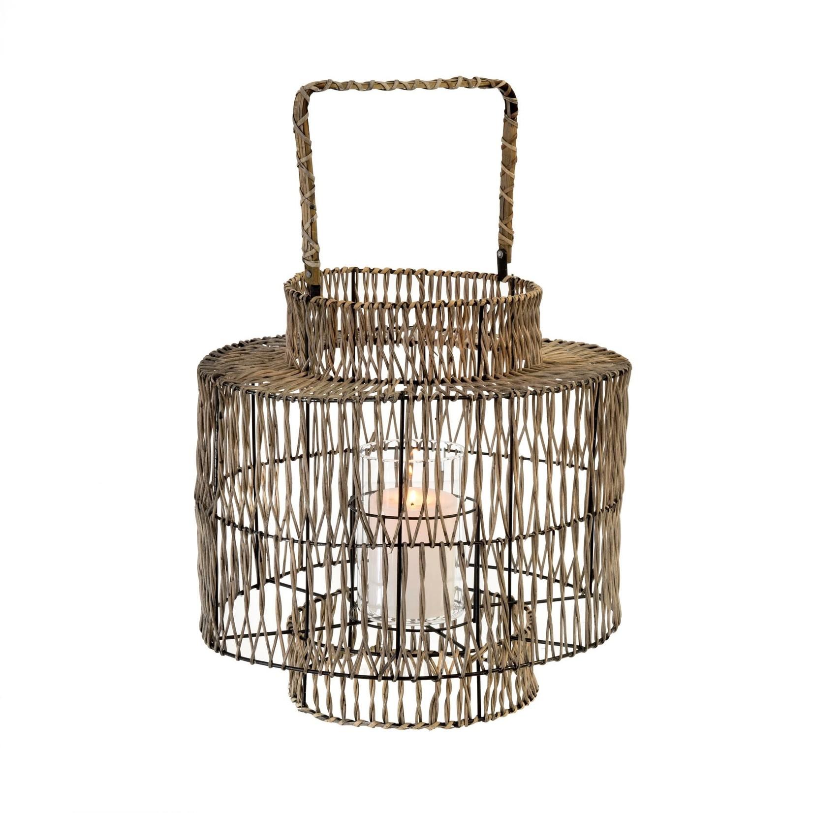 Cape Rattan Lantern