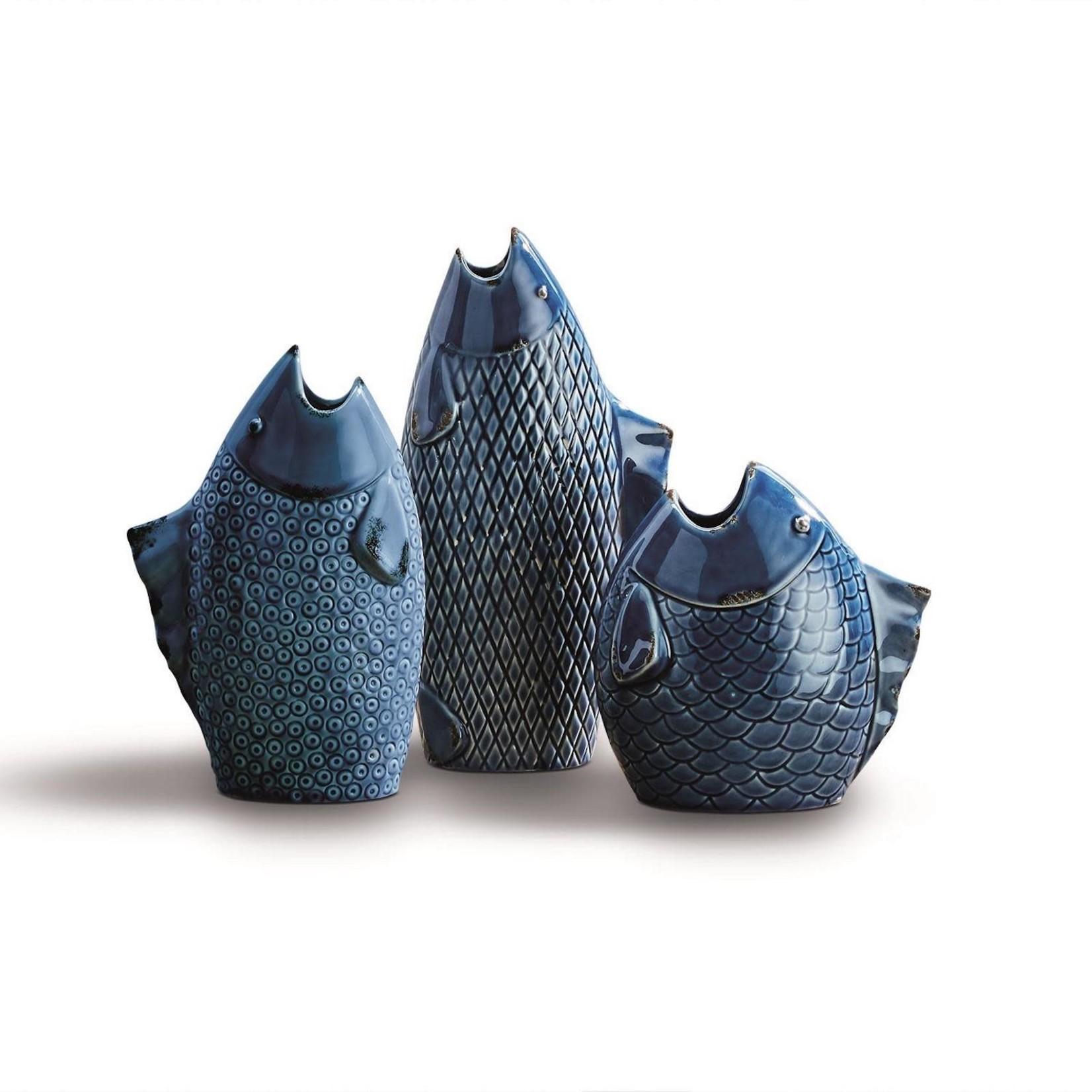 Ceramic Fish Vases (Multiple Sizes)