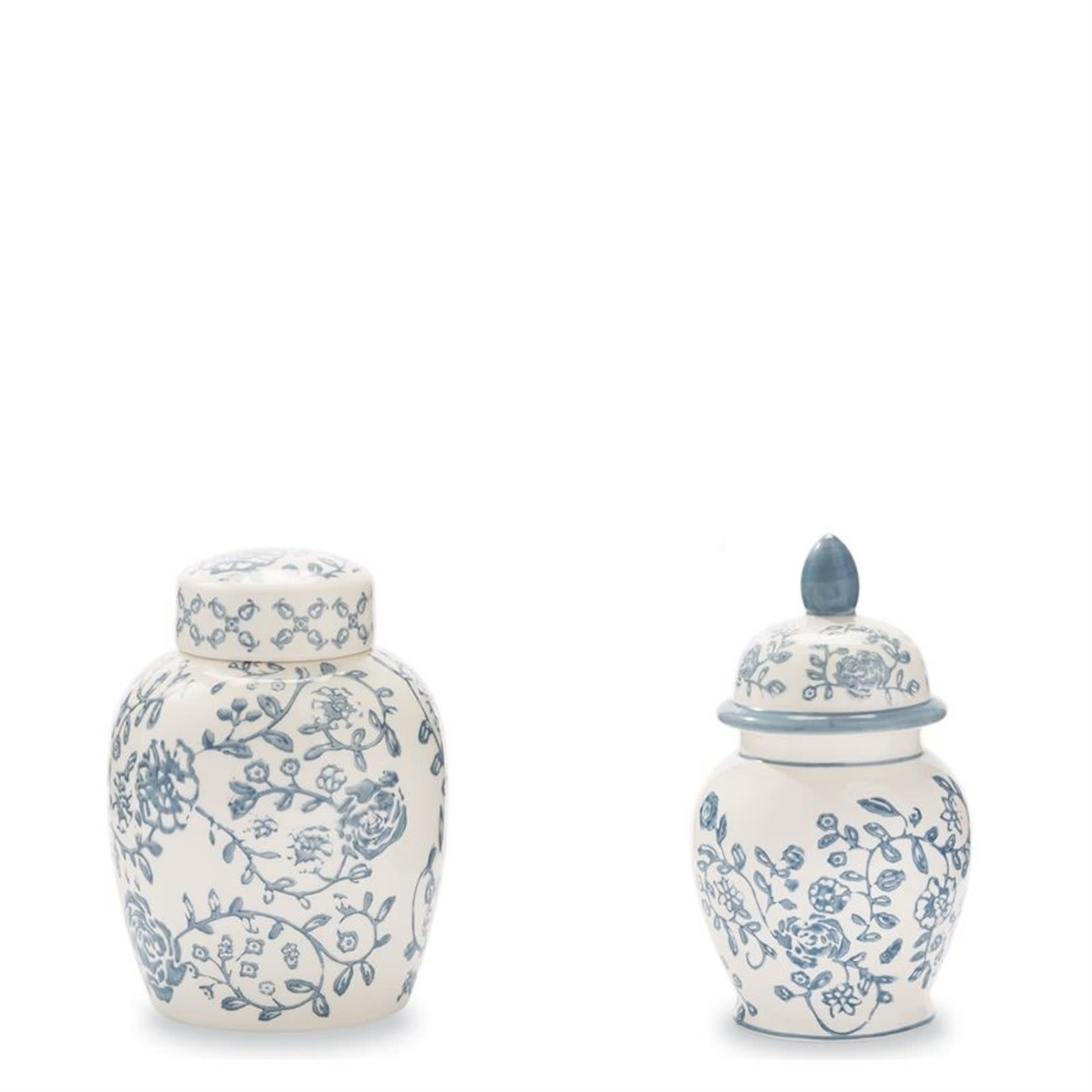 Floral Ginger Jars