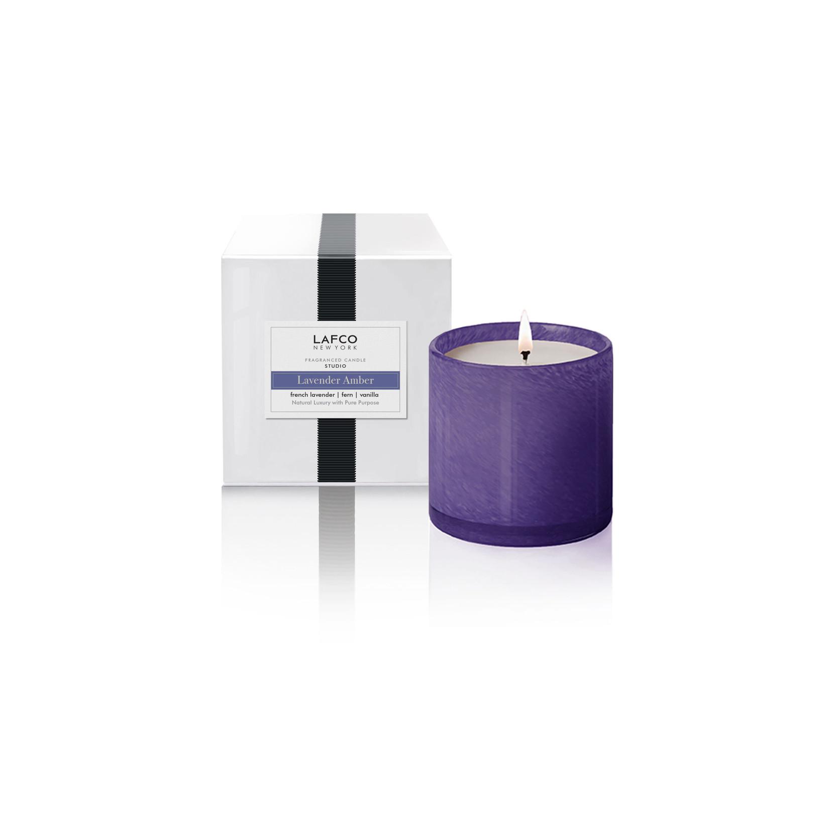 Lavender Amber Signature Candle
