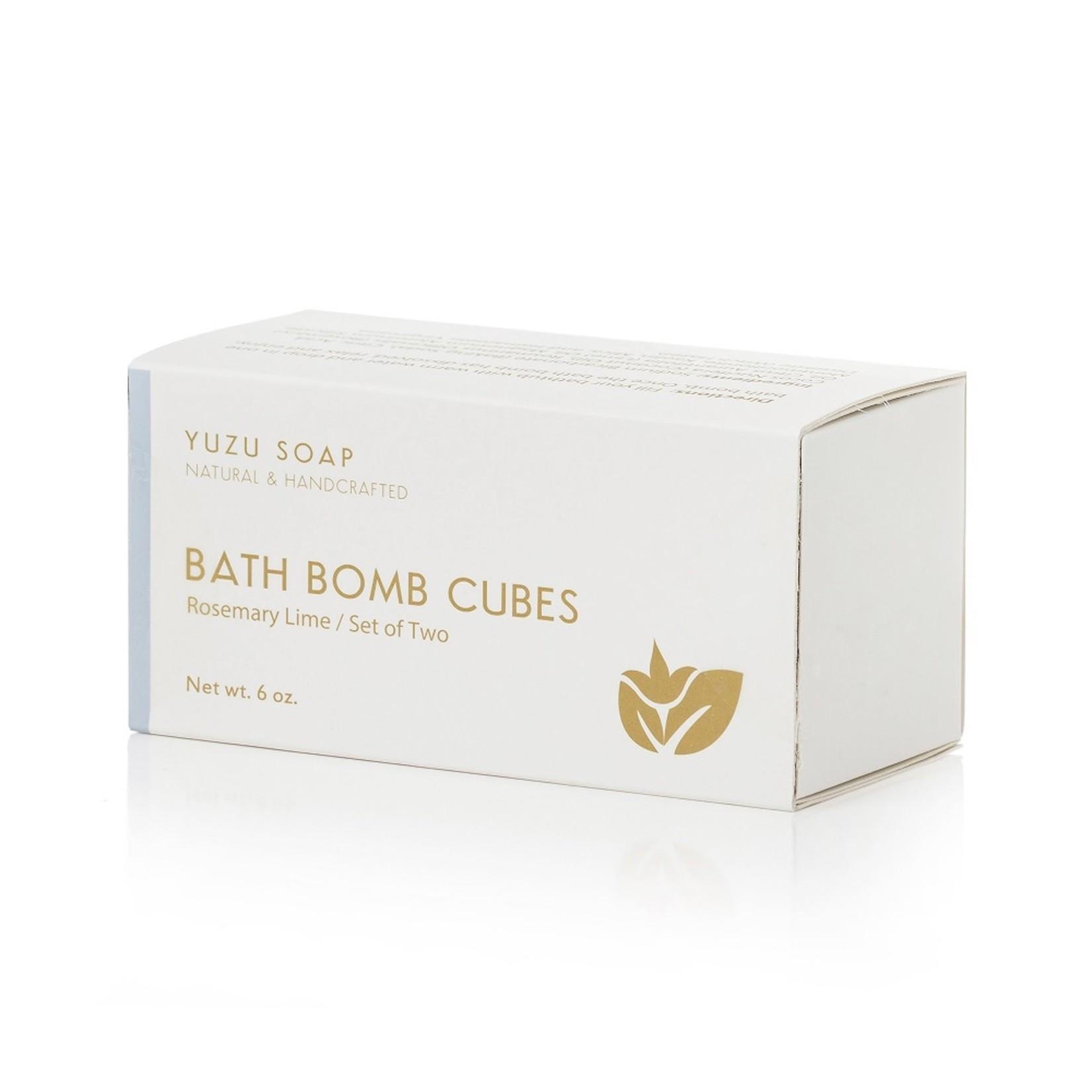 Rosemary Lime Bath Bomb Cubes