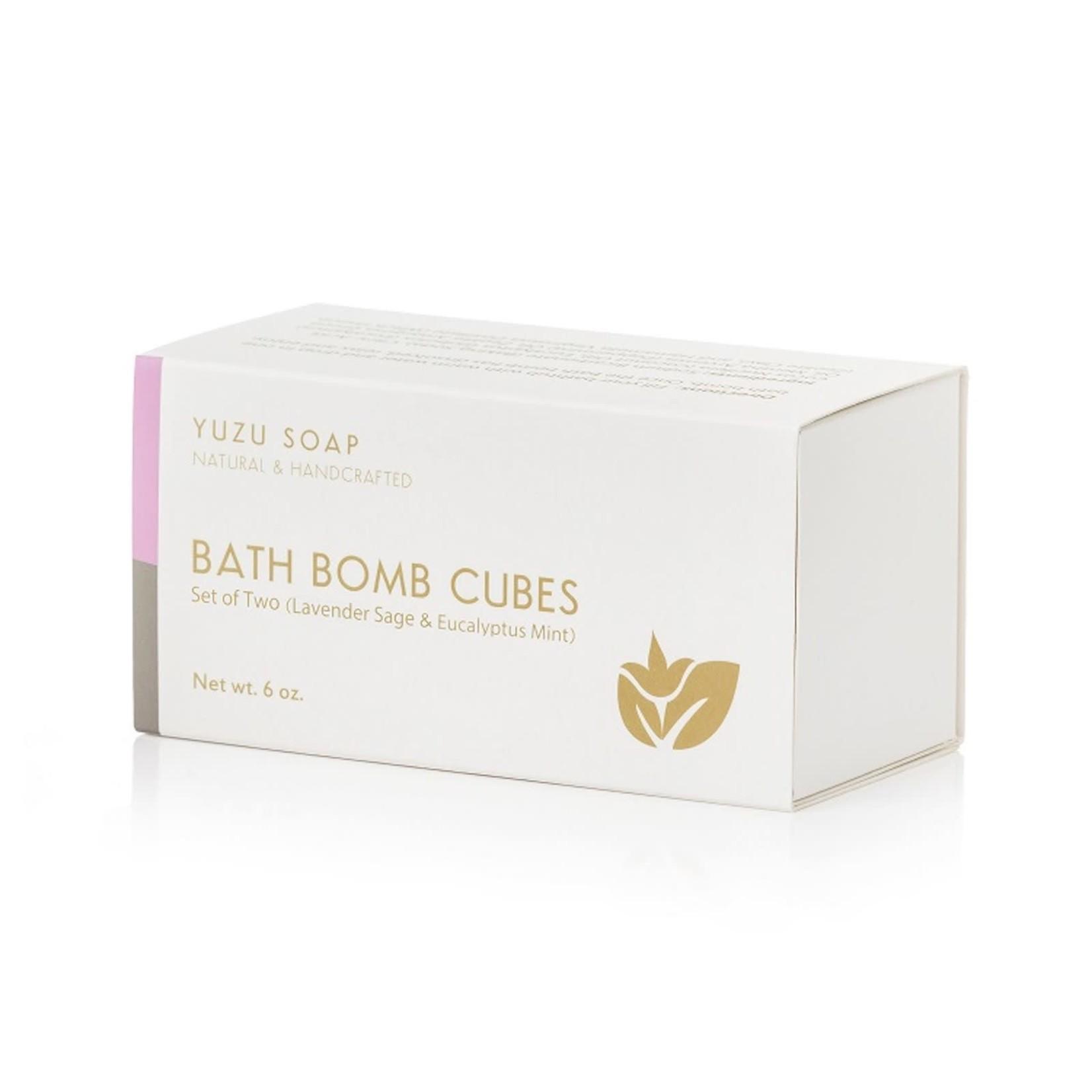 Lavender Sage & Eucalyptus Mint Bath Bomb Cubes