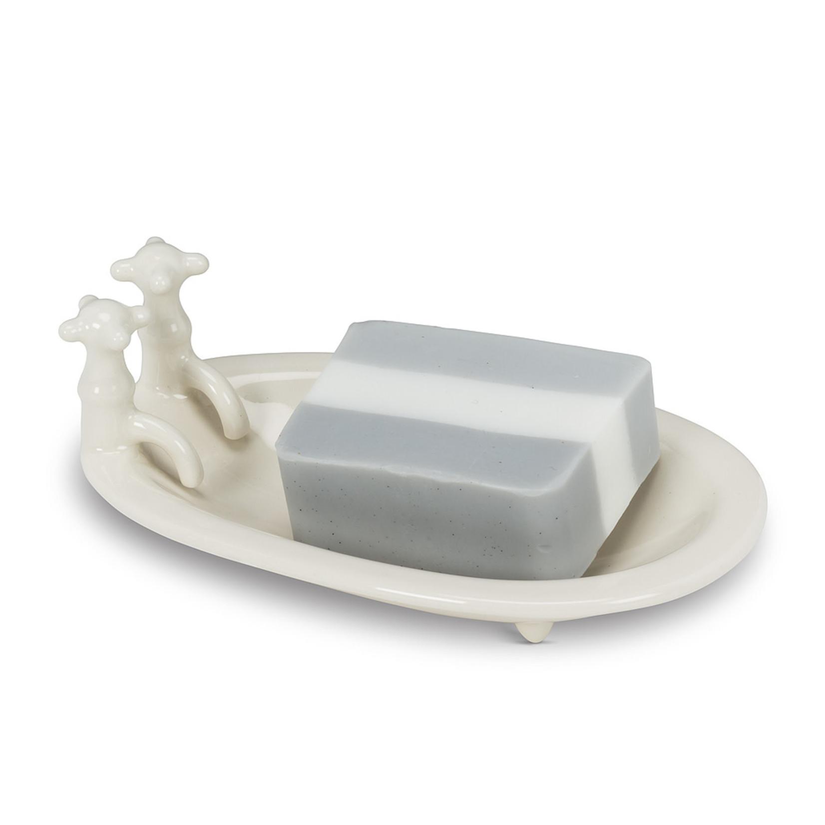 Oval Bathtub Soap Dish